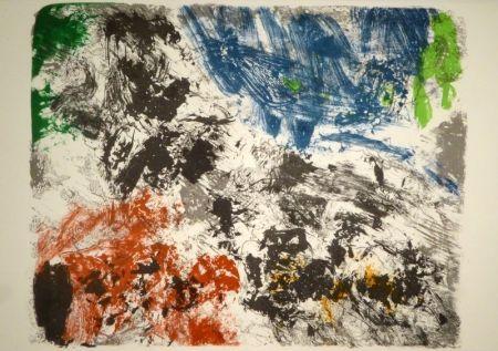 Lithographie Jorn - Die Geschichte vom teuren Brot / Sagan af braudinu dýra