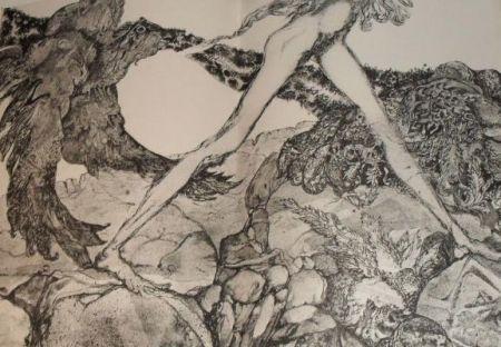 Livre Illustré Simon - Die Suchende / Celle qui cherche