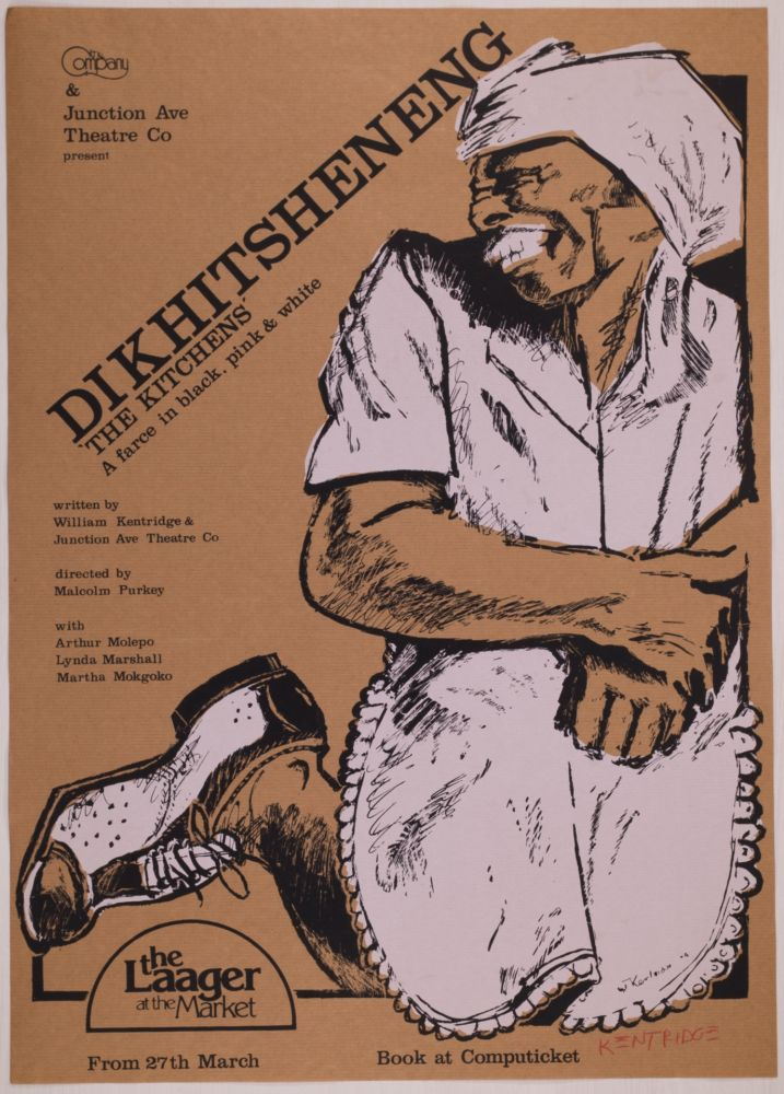 Sérigraphie Kentridge - Dikhitsheneng (The Kitchens)