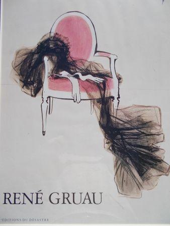Affiche Gruau - Diorama, Paris 1955