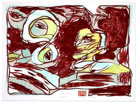Lithographie Alechinsky - Dites moi