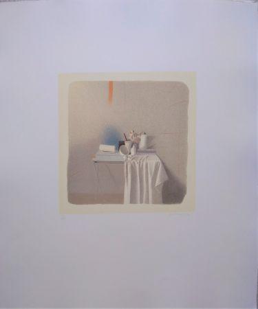 Lithographie Ferroni - Diversi oggetti e panneggio