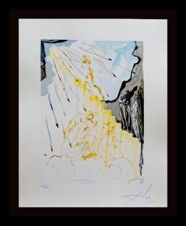 Gravure Sur Bois Dali - Divine Comedy Heaven Canto 21