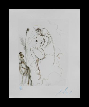 Gravure Sur Bois Dali - Divine Comedy Heaven Canto 28