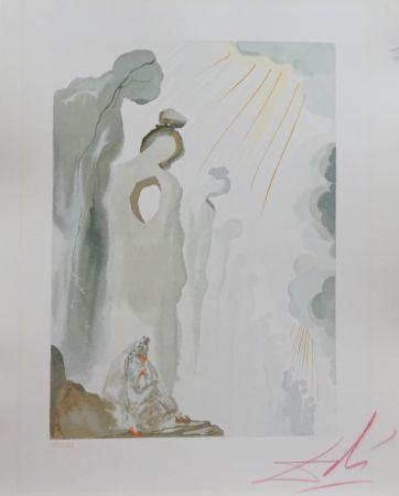 Gravure Sur Bois Dali - Divine Comedy Purgatory Canto 13