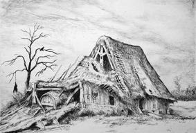 Gravure Bazire - Dix paysages gravés a l'eau-forte