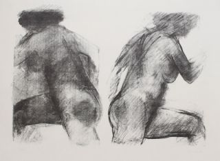 Lithographie Garache - DLM