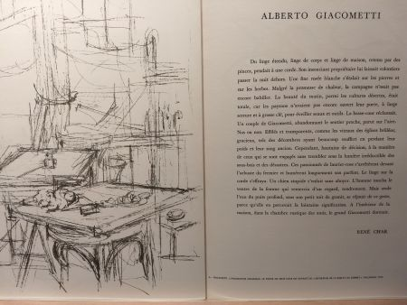 Livre Illustré Giacometti - DLM 112
