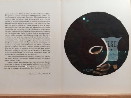 Livre Illustré Braque - DLM 121 122