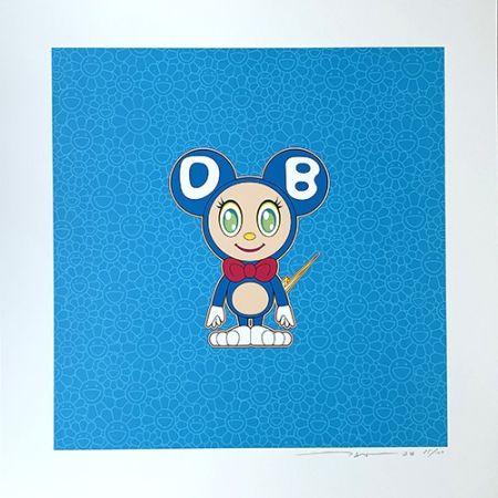 Lithographie Murakami - DOB 2020 Light Blue