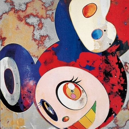 Estampe Numérique Murakami - Dob and then and garble glob