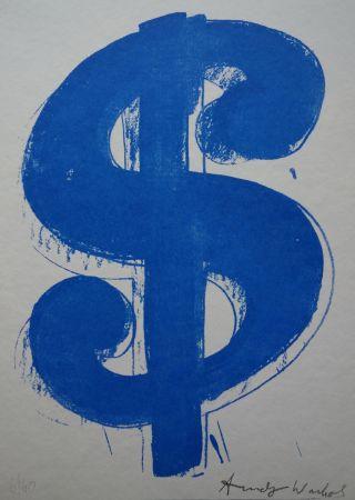 Sérigraphie Warhol (After) - Dollar Sign