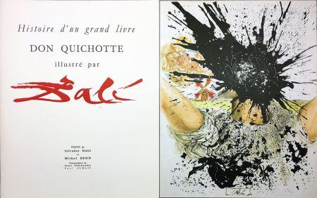 Livre Illustré Dali - DON QUICHOTTE À LA TÊTE QUI ÉCLATE (1957). Histoire d'un grand livre.