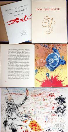 Livre Illustré Dali - DON QUICHOTTE DE LA MANCHE (Cervantès). Ex. avec suite supplémentaire (J. Foret 1957).
