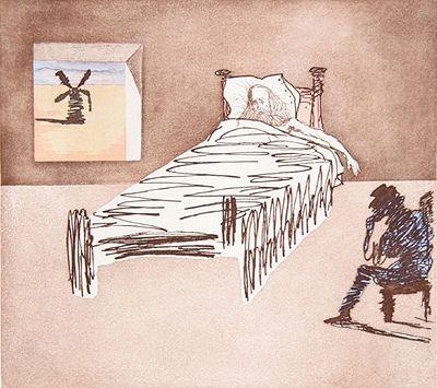 Gravure Dali - Don Quijote - le legacy