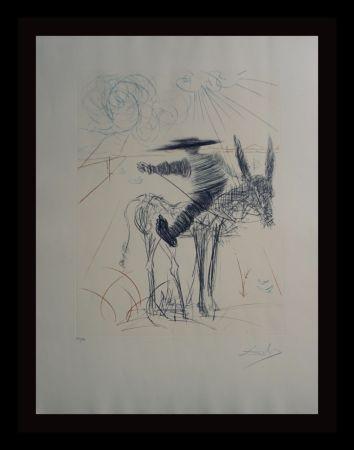 Gravure Dali - Don Quixote & Sancho Panza Sancho Panza