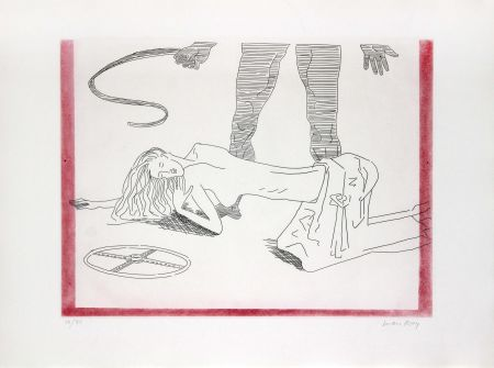 Lithographie Ray - Donna