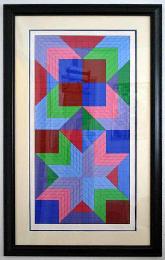 Sérigraphie Vasarely - Door