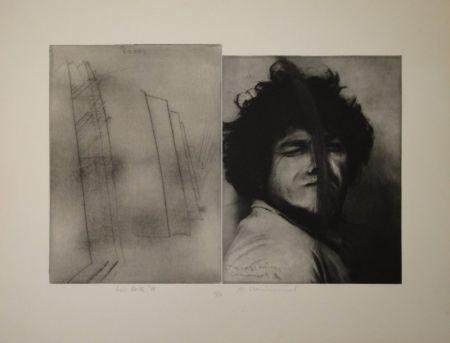 Gravure Rainer - Doppelporträt oder Stirnspalt