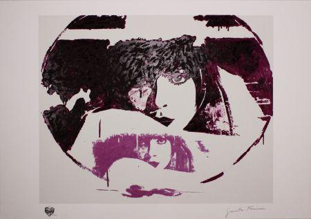 Sérigraphie Fioroni - Doppio Liberty Violet