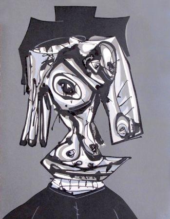 Lithographie Saura - Dora Maar III