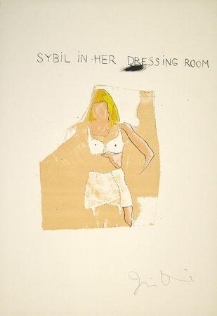 Lithographie Dine - Dorian Gray, Sybil