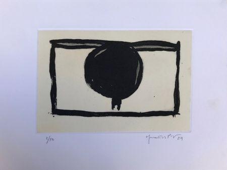 Gravure Hernandez Pijuan - Dos arbres