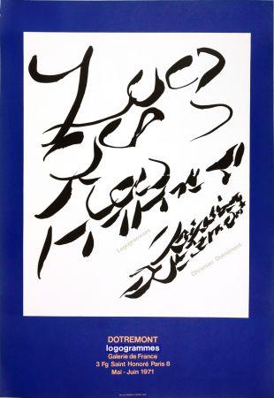 Affiche Alechinsky - Dotremont, logogrammes, 1971