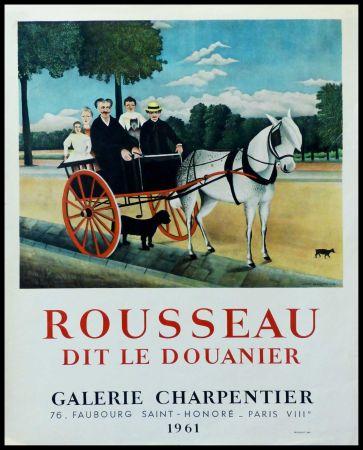 Affiche Rousseau - DOUANIER ROUSSEAU GALERIE CHARPENTIER ROUSSEAU DIT LE DOUANIER