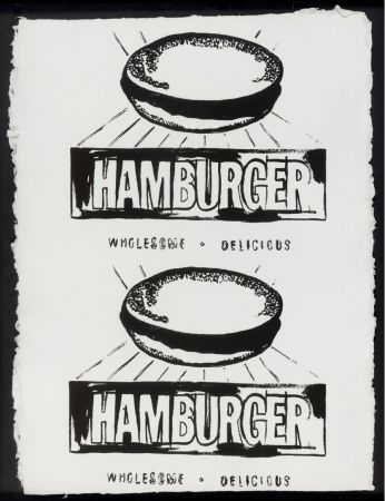Multiple Warhol - Double Hamburger