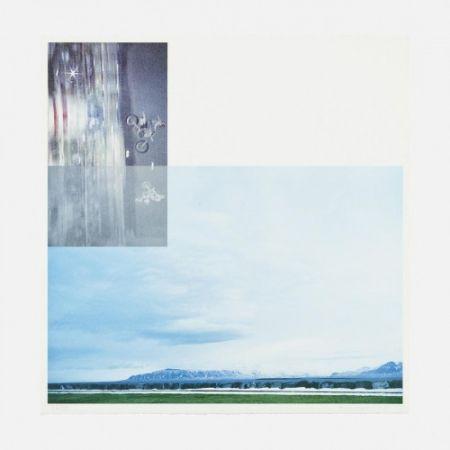 Lithographie Baldessari - Double Motorcyclists and Landscape (Icelandic)