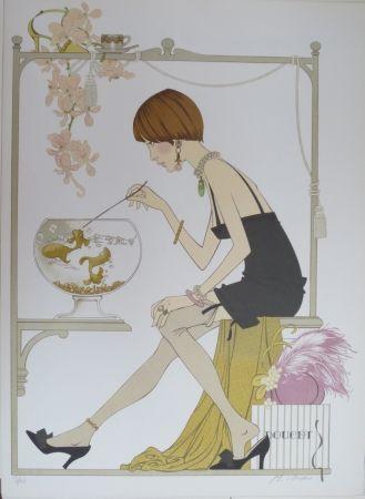 Lithographie Noyer - Doucet