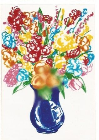 Lithographie Koons - DOW-Flowers