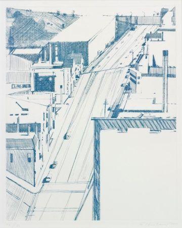 Gravure Thiebaud - Down 18th
