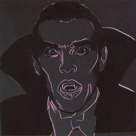 Sérigraphie Warhol - Dracula