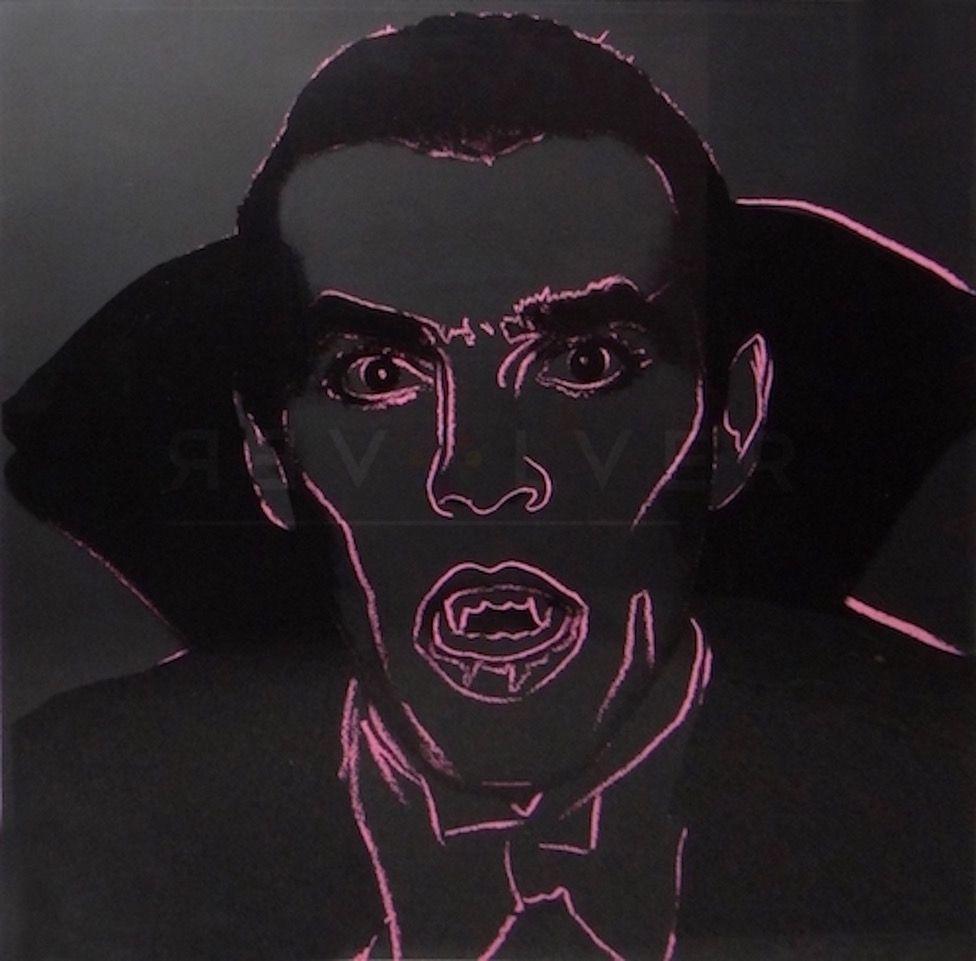 Sérigraphie Warhol - Dracula (FS II.264)