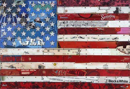 Multiple Liot - Drapeau américain