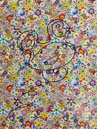 Lithographie Murakami - Drawing