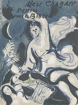 Livre Illustré Chagall - Drawings for the bible