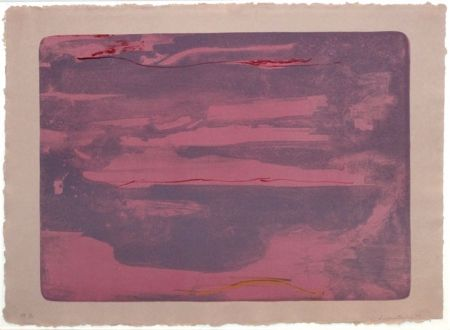 Lithographie Frankenthaler - Dream Walk