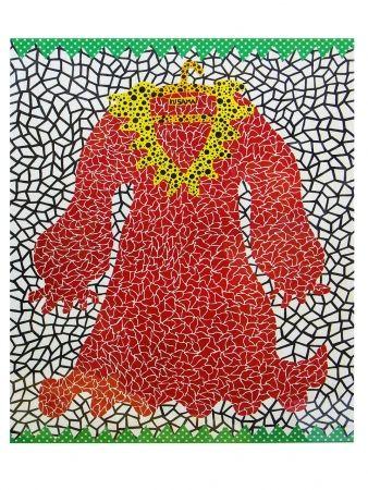 Lithographie Kusama - Dress
