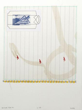 Lithographie Goldberg - Drifter Plus #1