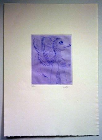 Gravure Svanberg - Dromkvinnans kyss