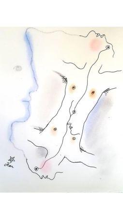 Lithographie Cocteau - Dual