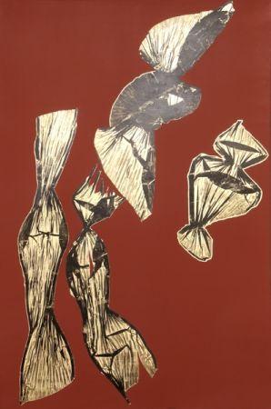 Lithographie Benglis - Dual Nature (Brown)