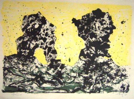 Lithographie Baj -  Due Personnaggi