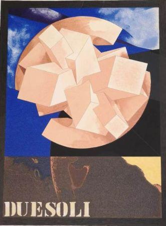 Lithographie Pomodoro - DUE SOLI