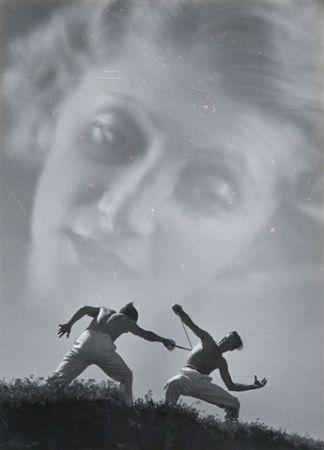 Photographie Aszmann - Duel,1935