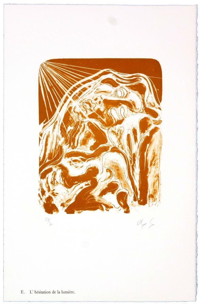 Lithographie Nørgaard - E. L'héistation de la lumière.