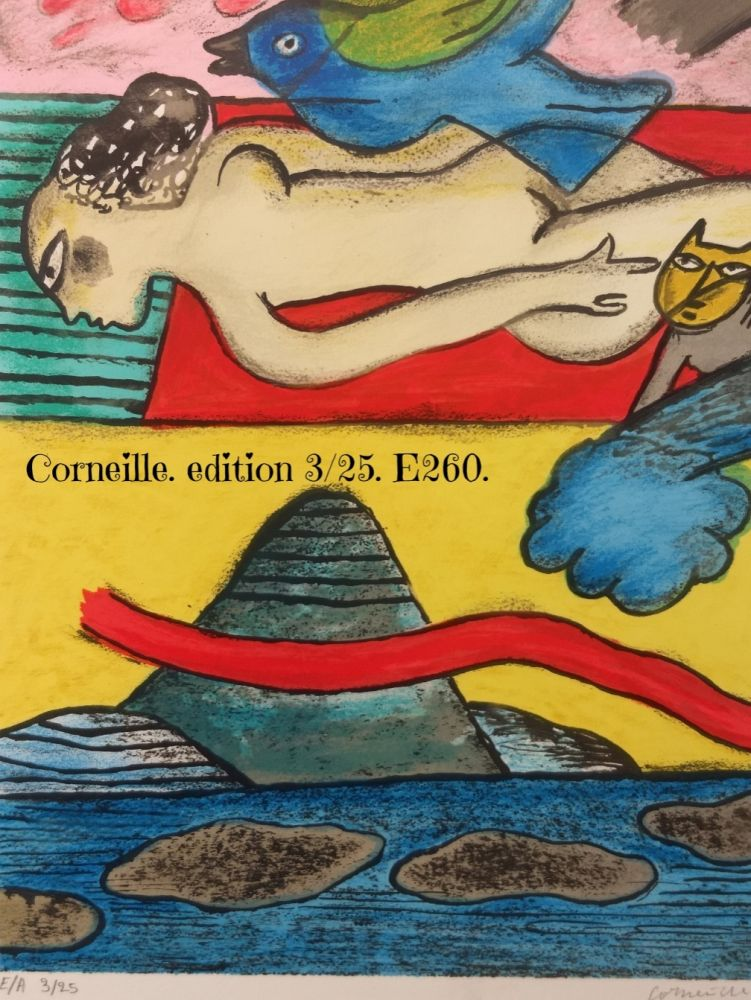 Lithographie Corneille - EA 3/25